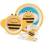 Zopa Bambusová sada nádobí - Bee - Dětská jídelní sada