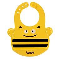 Zopa Silikonový bryndák - Bee - Bryndák