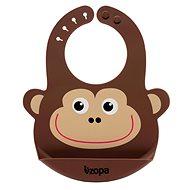 ZOPA Silicone Bib - Monkey - Feeding Bib