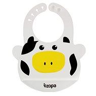 Zopa Silikonový bryndák - Cow - Bryndák