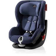Britax Römer King II 2018, Black - Moonlight Blue - Autosedačka