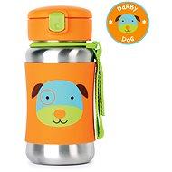 Skip hop Zoo Láhev na vodu - Pejsek - Láhev na pití pro děti