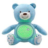 Chicco Hračka medvídek s projektorem - modrá - Noční světlo