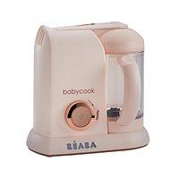 Beaba Parní vařič + mixér BABYCOOK SOLO limitovaná edice PINK - Parní hrnec
