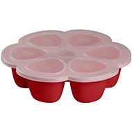 Beaba Multi-dávkovač na jídlo 6× 90 ml červený - Zásobník
