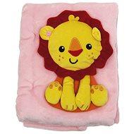 Fisher-Price Deka s lvem - Dětská deka