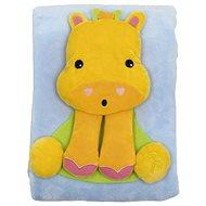 Fisher-Price Deka s žirafou - Dětská deka