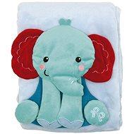Fisher-Price Deka se slonem - Dětská deka