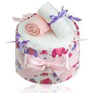 T-tomi Plenkový dort LUX - velký slon - Plenkový dort