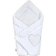 New Baby Luxusní Zavinovačka z Minky New Baby - bílá - Zavinovačka