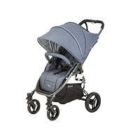 VALCO SNAP4 BLACK TAILOR MADE SPORT, black construction/grey top + grey seat (grey marble) - Baby Buggy
