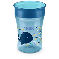 NUK hrnek Magic Cup 230 ml modrý