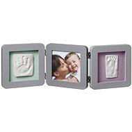 Baby Art Rámeček Double Print Frame Grey - Digitální fotorámeček
