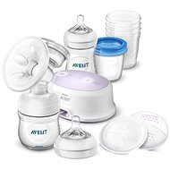 Philips AVENT Elektrická odsávačka Natural  + sada pro kojení - Odsávačka mléka