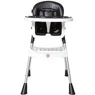 TOPMARK JESS židle vysoká černá - Jídelní židlička