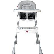 TOPMARK JESS židle vysoká stříbrná - Jídelní židlička