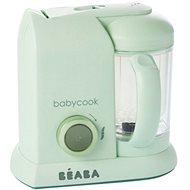 Beaba Parní vařič + mixér BABYCOOK Jade Green - Parní vařič
