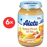 ALETE BIO Poultry Banana with peaches and rice 190 g - Kids dish