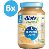 ALETE BIO Evening bowl with biscuits 190 g - Milk pudding