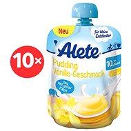 ALETE Dezert s vanilkovou příchutí  10× 85 g  - Dětský příkrm