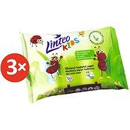 LINTEO KIDS Vlhčený toaletní papír (3× 50 ks) - Toaletní papír