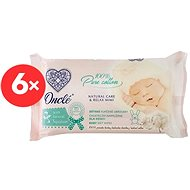 ONCLÉ Wet wipes with natural Squalan oil (6 x 54 pcs) - Baby wet wipes