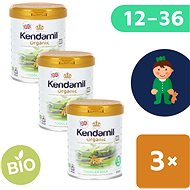 Kendamil 100% BIO plnotučné kojenecké mléko 3 (3× 800 g) - Kojenecké mléko