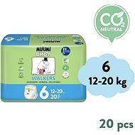 MUUMI BABY Walkers Junior vel. 6 (20 ks) - Dětské pleny