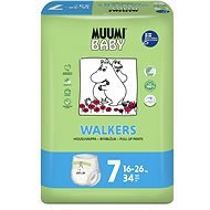 MUUMI BABY Walkers Extra Large vel. 7 (34 ks) - Dětské pleny