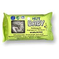 HELMI BABY ekologické vlhčené ubrousky 64 ks - Dětské vlhčené ubrousky