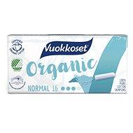 VUOKKOSET Organické tampony normal 16 ks - Tampony