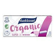 VUOKKOSET Organické tampony super 16 ks - Tampony