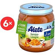 ALETE Příkrm Zeleninové lasagne 6× 250 g - Dětský příkrm