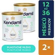 Kendamil batolecí mléko 3 (2× 400 g) - Kojenecké mléko