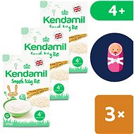 Kendamil Fine baby rice paddy 3 × 100 g - Milk pudding