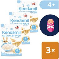 Kendamil Fine creamy porridge 3 × 125 g - Milk pudding