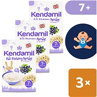 Kendamil Bordeaux slurry 3 × 120 g - Milk pudding