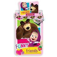 Jerry Fabrics Máša a Medvěd Friends - Dětské povlečení