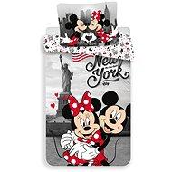 Jerry Fabrics Mickey and Minnie In New York - Dětské povlečení