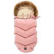 Zopa Winter fusak Fluffy - pink - Footmuff