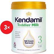 Kendamil batolecí mléko 3 (3× 900 g) - Kojenecké mléko