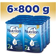 Nutrilon 2 Pokračovací mléko 6+  6× 800 g