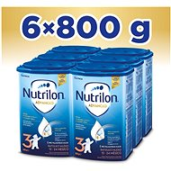 Nutrilon 3 Batolecí mléko 12+  6× 800 g - Kojenecké mléko