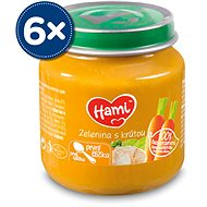 Hami První lžička Zelenina s krůtou 6× 125 g - Příkrm