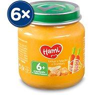 Hami Mrkev s telecím a brambory 6× 125 g - Příkrm