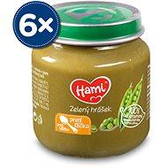 Hami První lžička Zelený hrášek 6× 125 g - Příkrm