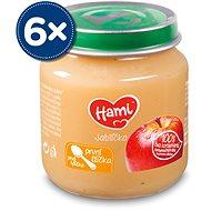 Hami První lžička Přesnídávka Jablíčko 6× 125 g - Příkrm
