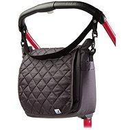 Caretero Stitched bag for stroller - graphite - Pram Bag