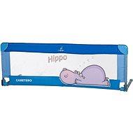 Caretero Mantinel do postýlky Hippo - modrý - Mantinel do postýlky