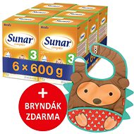 Sunar Complex 3, 6 × 600 g + gift - Breast milk